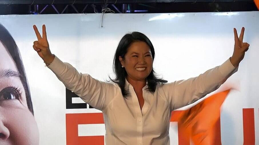 Keiko Fujimori descredibilizou o resultado das eleições presidenciais no Peru