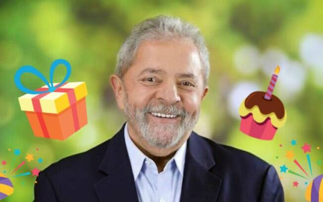 Lula completou 74 anos