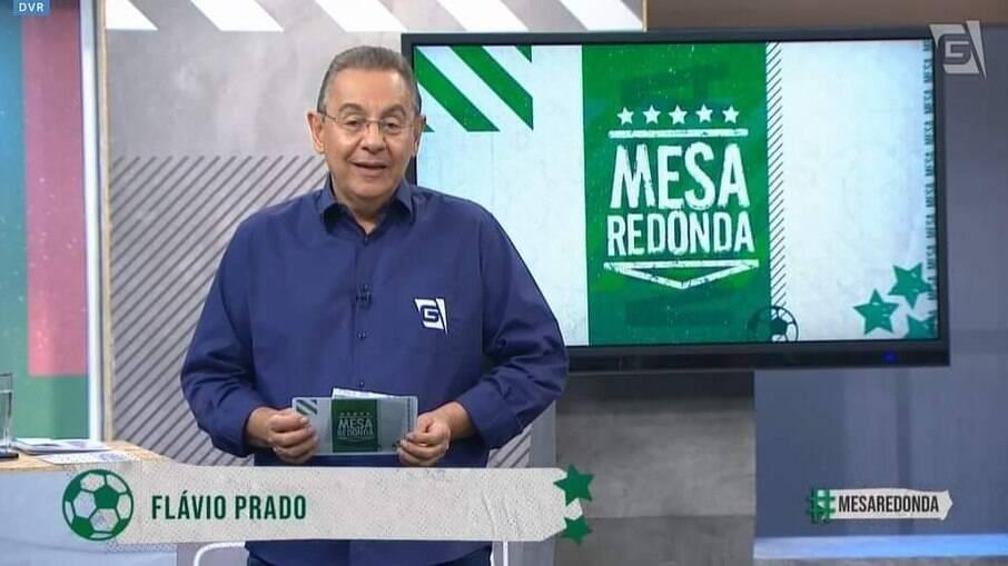 Flávio Prado polemizou ao falar sobre arbitragem em jogos do Atlético
