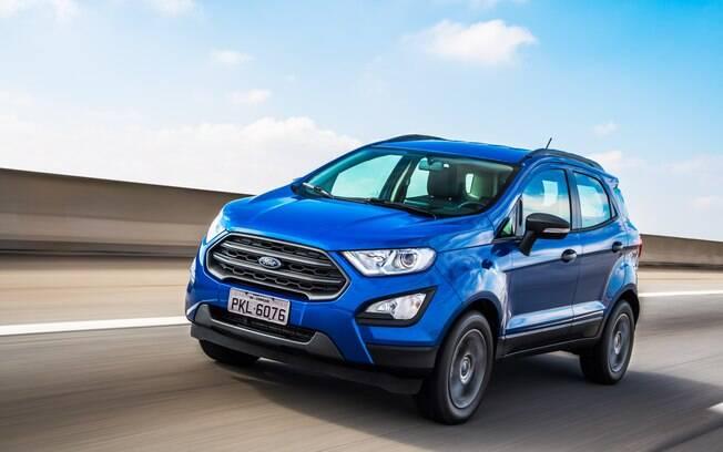 Ford EcoSport:  já com o eficiente motor 1.5, de três cilindros, o SUV anda bem e não gasta muito combustível
