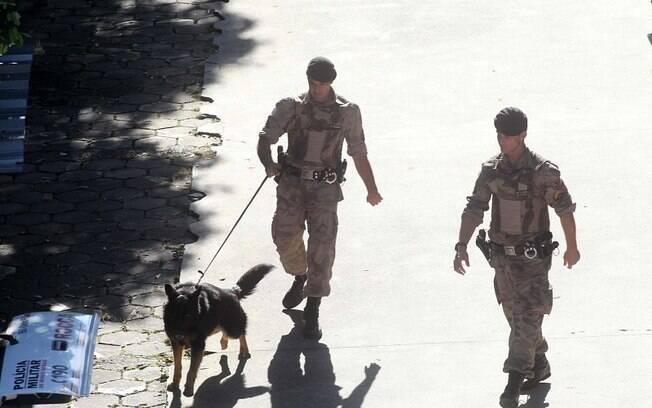 Fórum de Contagem, em Minas Gerais, recebe reforço na segurança por causa do julgamento do ex-goleiro Bruno