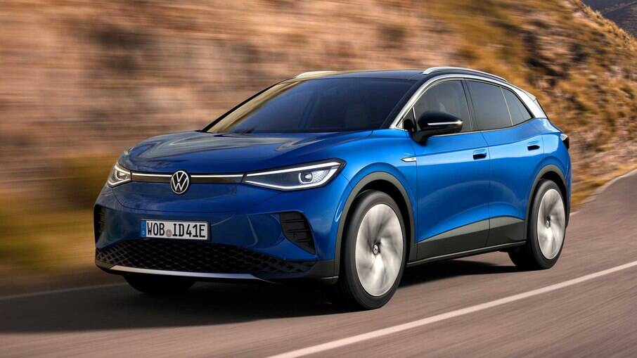 VW ID.4: SUV 100% elétrico da marca alemã é indicado entre os melhores carros do mundo em 2021