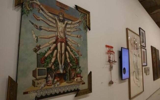 Obra na exposição