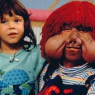 Simony e Fofão na década de 1980