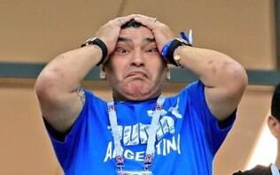 Em áudio, Maradona detona seleção argentina após derrota para a Colômbia; ouça