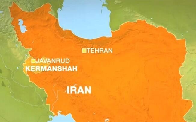 Terremoto de pouca profundidade atingiu 26 quilômetros a sudeste da cidade de Javanrud, na província de Kermanshah
