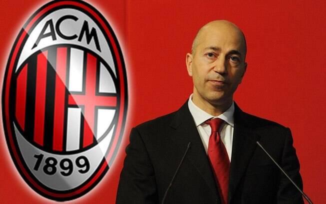 Ivan Gazidis assumiu o cargo de CEO do Milan após deixar o Arsenal