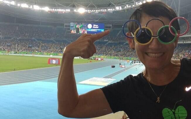 Mulheres inspiradoras: Neide conseguiu realizar o sonho olímpico em 2016, quando participou do revezamento da tocha