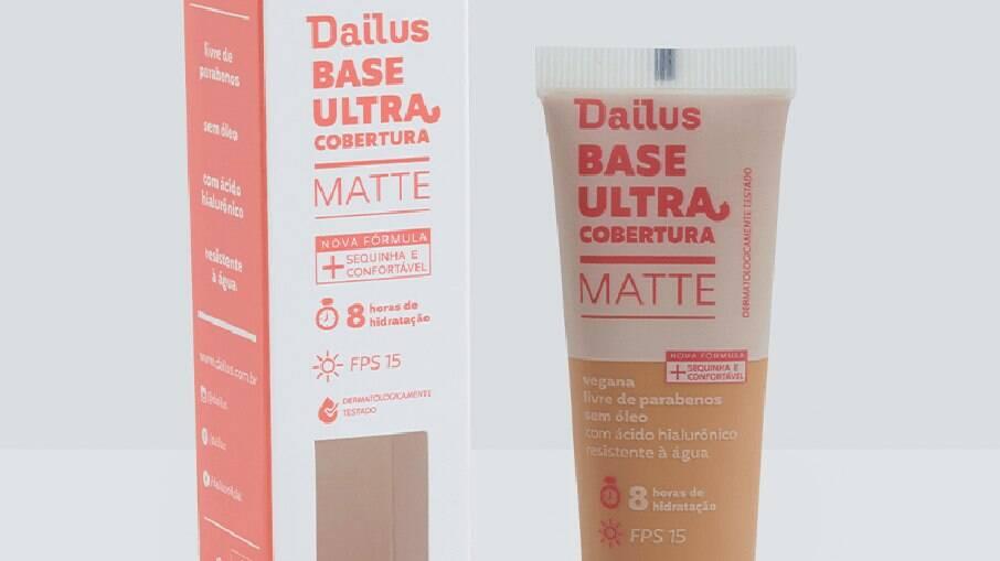 Base Ultra Cobertura Matte Dailus