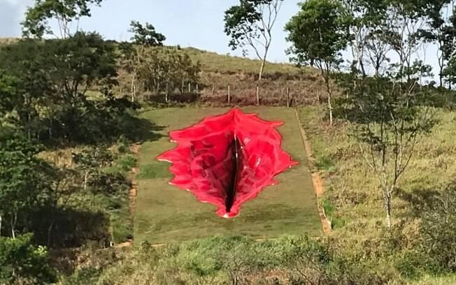 Vagina de 33 metros está na Zona da Mata Sul em Pernambuco