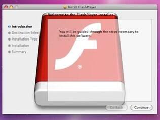 Trojan disfarçado como componente do Flash