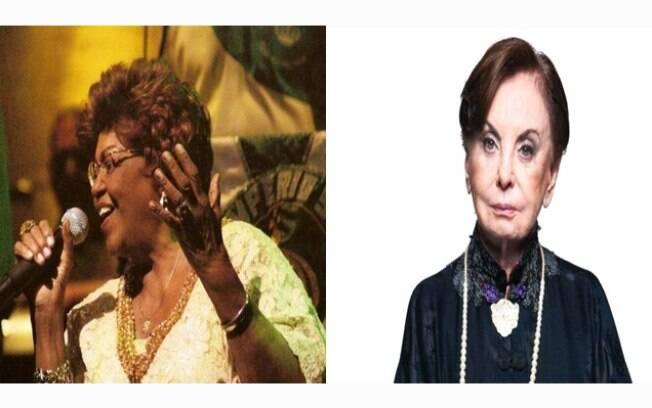 Dona Ivone Lara e Beatriz Segall