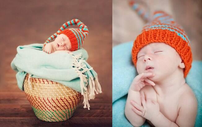 Bebê fotografado por Maria Murray: troca de carreira pela maternidade