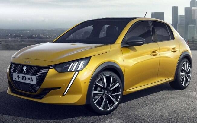 Novo Peugeot 208 da nova geração tem estilo arrojado e nível de sofisticação mais alto que  a anterior feita no Brasil