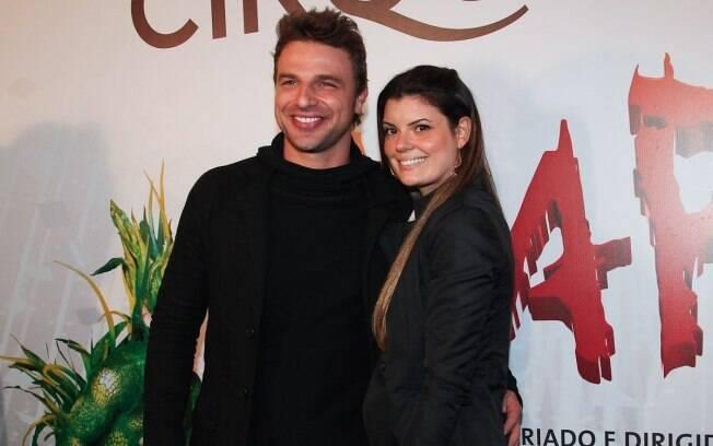 Cassio Reis e a namorada, Paula Lucas