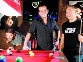 Sobe o som. Sergio Flecha, Carlos Velloso e Gustavo Jacob administram três badaladas casas onde o rock and roll reina absoluto