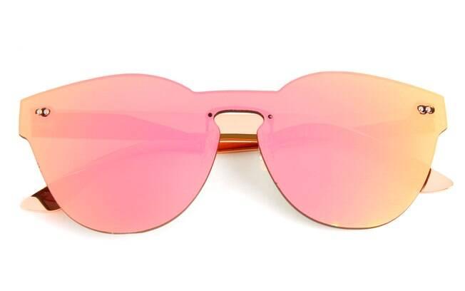 Óculos de sol com lentes flats, Chilli Beans