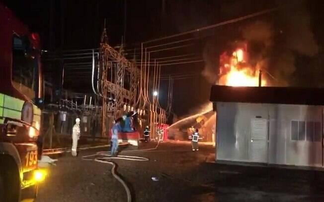 Incêndio na subestação ocorreu no dia 3 de novembro.