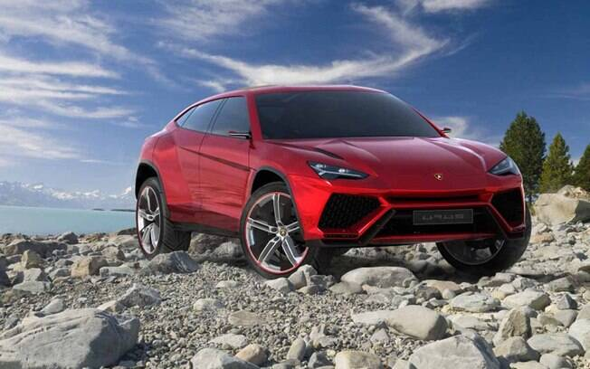 O Lamborghini Urus deve ser lançado com motor 5.2 V10 de 592 cv, o mesmo usado no Audi R8.