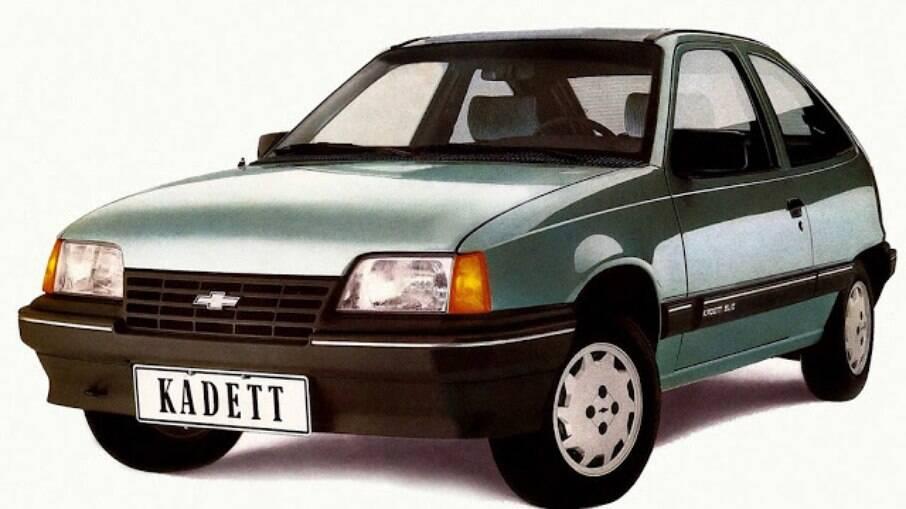 Em 1989, o Kadett rompia uma fase de cinco anos da falta de lançamento de um carro novo no Brasil
