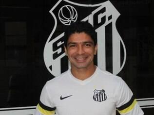 Renato celebrou a volta ao Santos
