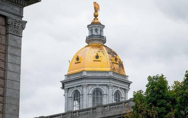 A assembleia legislativa de New Hampshire, onde a controversa lei sobre as grávidas foi aprovada