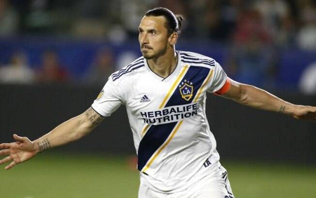 Zlatan Ibrahimovic, atacante sueco do Los Angeles Galaxy