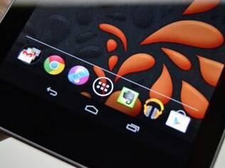 Tela do Nexus 7 é extremamente nítida