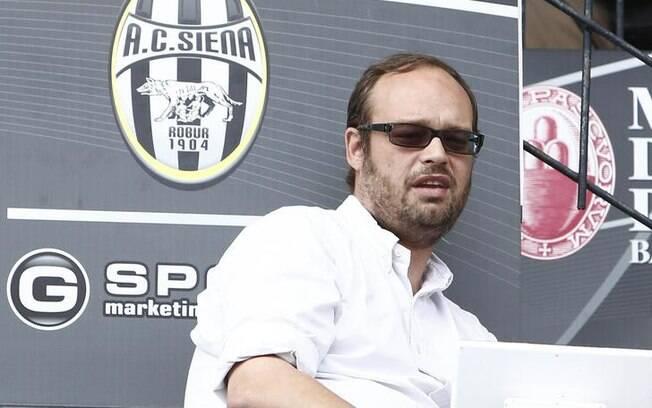 Massimo Mezzaroma foi presidente do Siena, clube da Itália que está à beira da falência