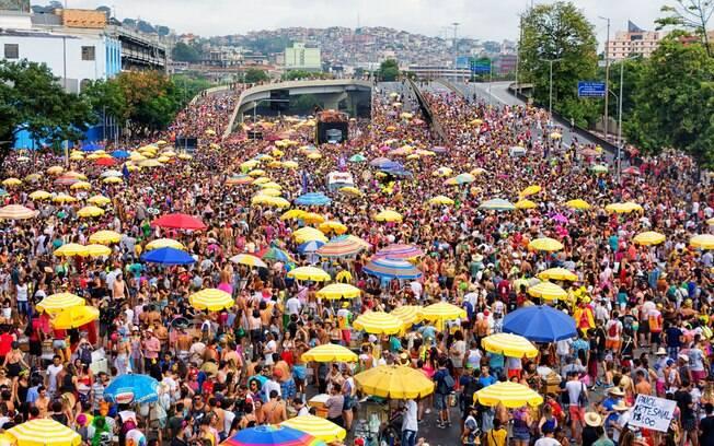 O carnaval em Belo Horizonte promete ser maior do que no ano anterior