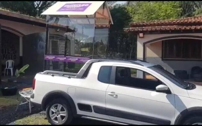 Campanha de Guilherme Boulos (Psol) à prefeitura de São Paulo criou um carro para que a vice Luiza Erundina pudesse participar de atos na rua