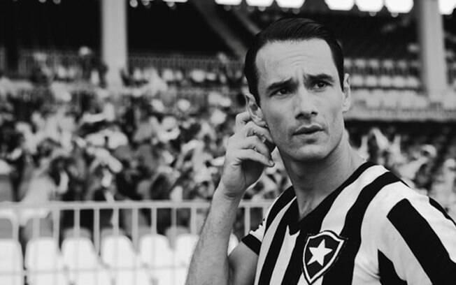 Rodrigo Santoro vive Heleno de Freitas, lendário craque do Botafogo, no filme