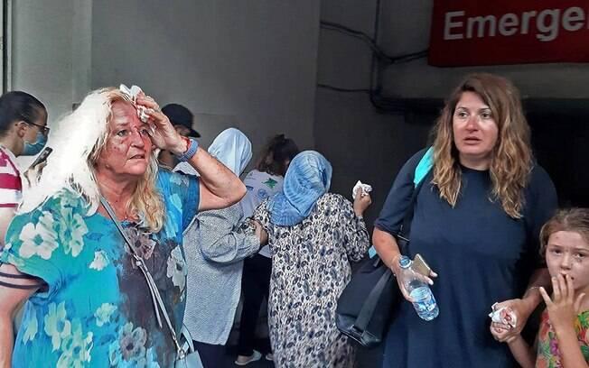 Recorde de casos de Covid-19 acontece no momento em que hospitais de Beirute recebem milhares de feridos pela explosão