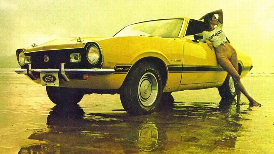 Ford Maverick GT: versão esportiva é bastante valorizada hoje em dia no mercado de modelos clássicos nacionais