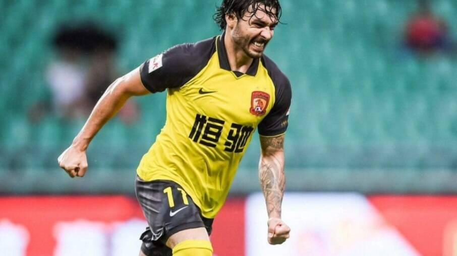 Ricardo Goulart, jogador do Guangzhou Evergrande