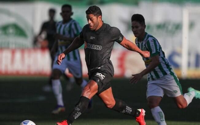 Atlético-MG vence o Juventude de virada e vira líder do Brasileirão
