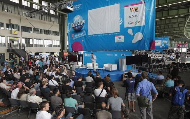 Campus Party também acontece em outras cidades do mundo, como Berlim, na Alemanha