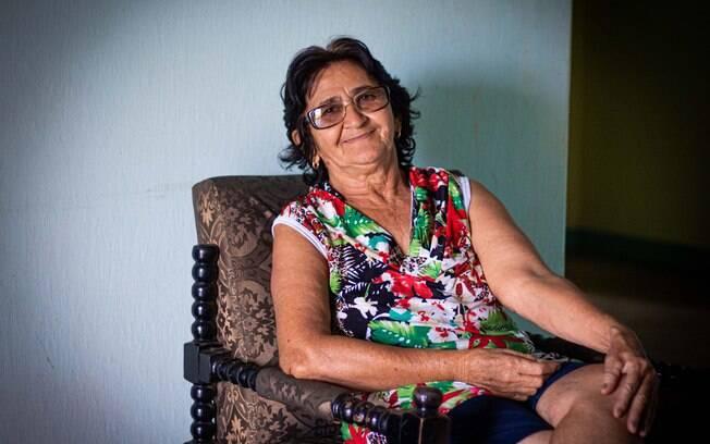 Terezinha Alves da Silva mora há 40 anos no povoado Barra