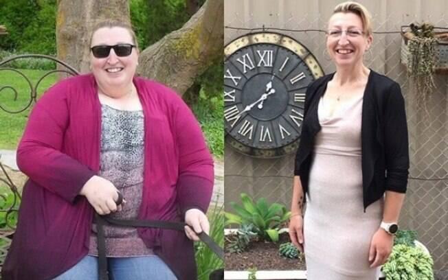 A motivação de Cassandra foi a promessa que fez a si mesma de que iria emagrecer e mudar o estilo de vida