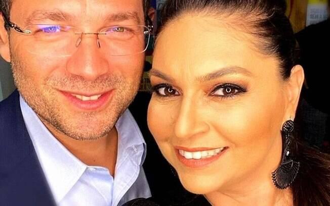 Luiz Carlos e Daniela Assayag