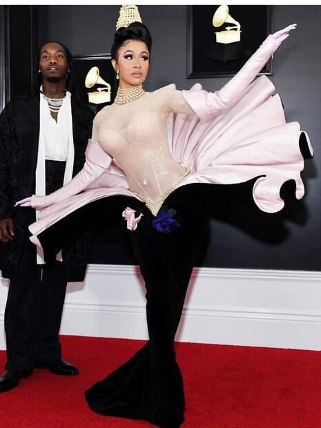 Cardi B conquista primeiro Grammy da carreira