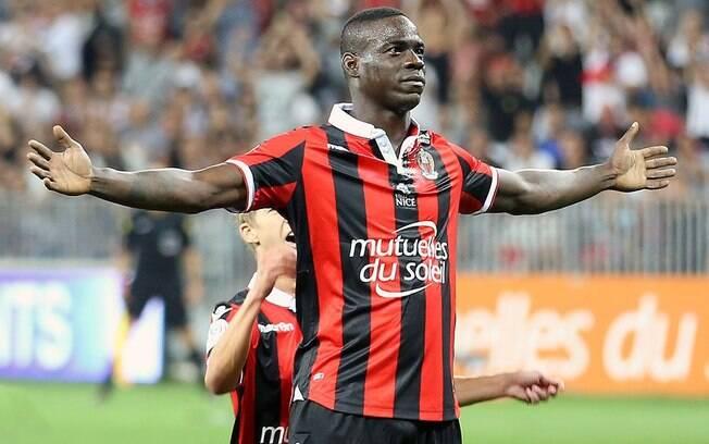 Mario Balotelli, atacante do Nice
