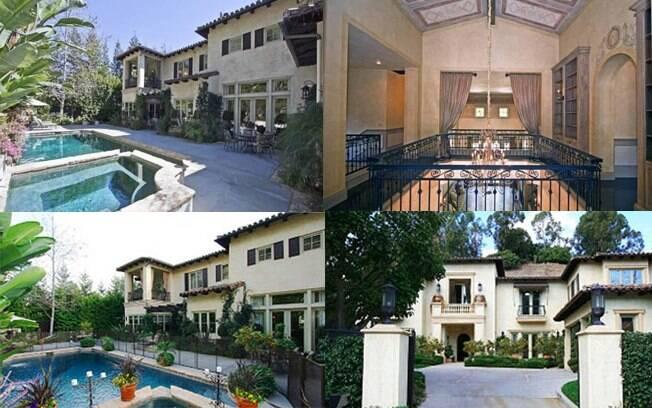 Fotos da mansão de Britney Spears