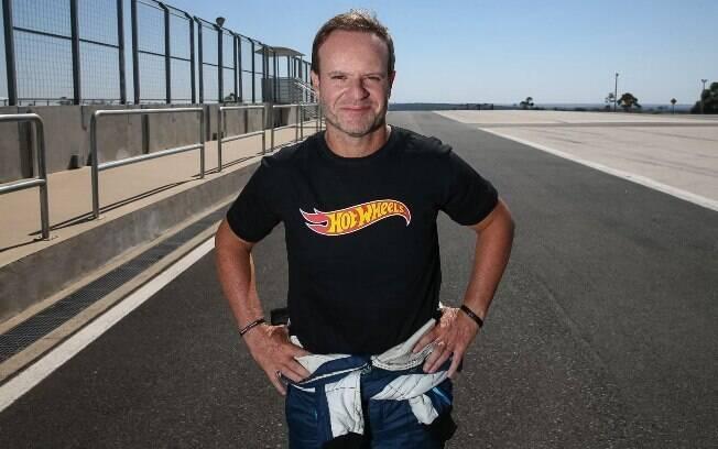 Rubens Barrichello:  piloto vai virar motorista da Uber em ação de marketing da Hot Wheels