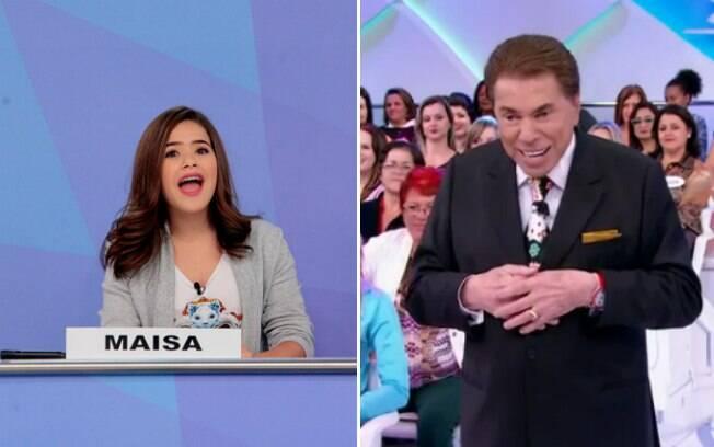 Maisa Silva debocha de Silvio Santos