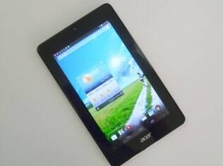A previsão é que as vendas de tablets cheguem a 10 milhões de unidades até o fim do ano