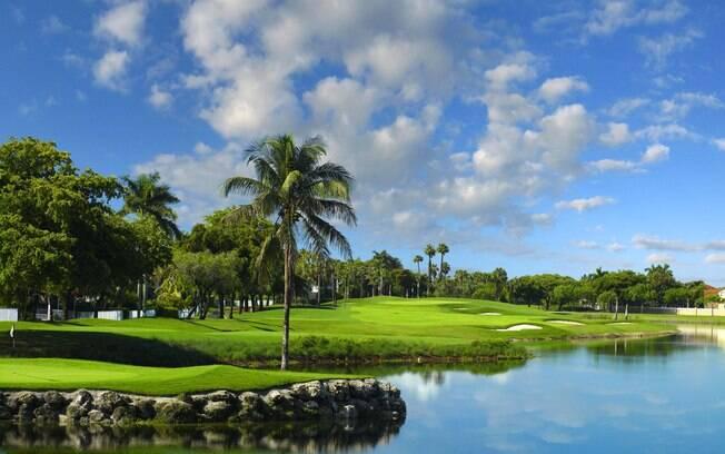 Doral é um dos mais tradicionais clubes de golfe de Miami, com cinco campos de 18 buracos