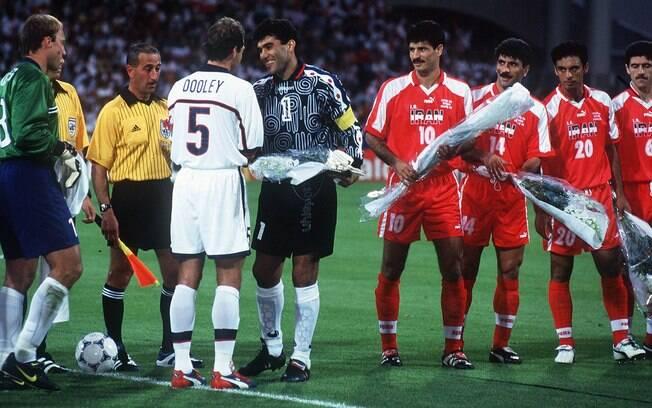 Irã e Estados Unidos se enfrentaram na Copa do Mundo de 1998, na França, em clima de paz