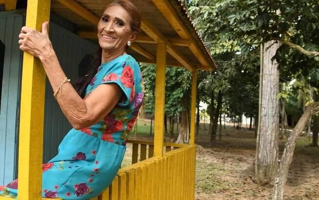 Ivete Maria de Souza, 70 anos, é recém-formada no curso de Artes Cênicas da Universidade Federal do Acre