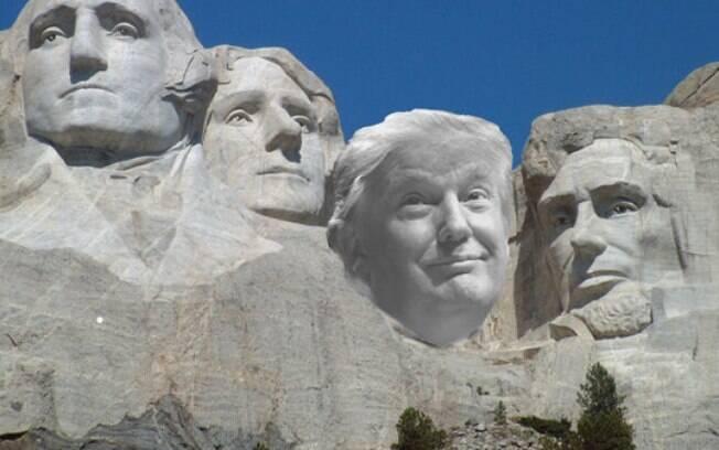 Trump discursa no Monte Rushmore